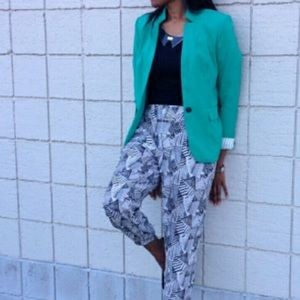 ✨Vince Camuto Teal Blue Green Classic Blazer 12